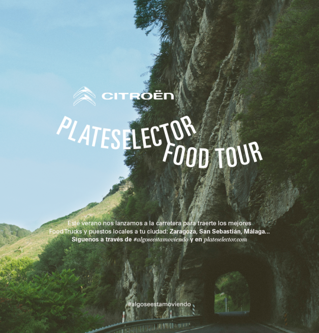 CITRÖEN PLATESELECTOR FOOD TOUR